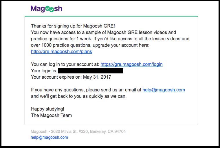 magoosh- increase customer lifetime value