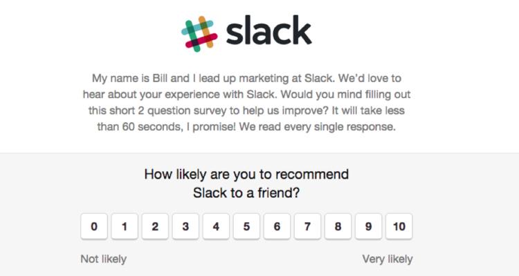 Slack customer feedback(increase customer lifetime value (CLV))