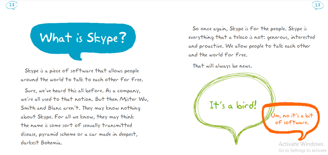 graphic design guide for small business, why is graphic design important for any business, skype brand style guide