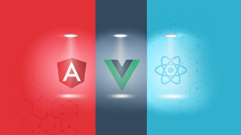 react vs vue vs angular, angular vs vue vs react