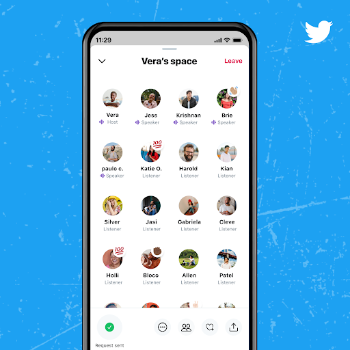 twitter-spaces, create an app like Clubhouse, social audio app like clubhouse